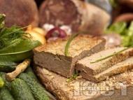 Рецепта Домашен пастет от патешки дробчета